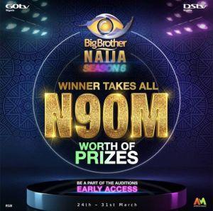 Bbnaija season 6 prizes to be won