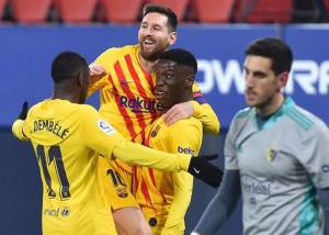 La Liga: Osasuna vs Barcelona 0-2 Highlights Download