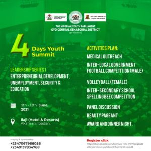 NYP OYO Central 4-Day Youth Summit: Registration Is Open