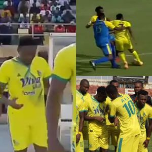 Super Eagles Captain, Ahmed Musa's Wonderful Debut For Kano Pillars (Video)