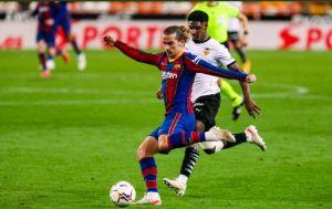 Valencia vs Barcelona 2-3 Highlights