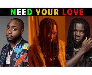Ayanfe ft Davido & Stonebwoy - Need Your Love