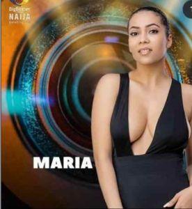 Bbnaija Season 6 (Shine Ya Eye) Housemate, Maria