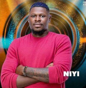 BBNaija Season 6 (Shine Ya Eye) Male Housemate, Niyi