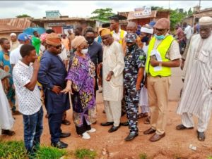 Shoddy Job: Rep Akande-Sadipe, Fed. Min of Works Call Out Contractor Handling Olomi Road