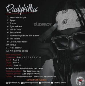 Rudeboy - Rudykillus Album Download