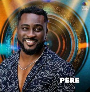 BBNaija Season 6 (Shine Ya Eye) Male Housemate, Pere