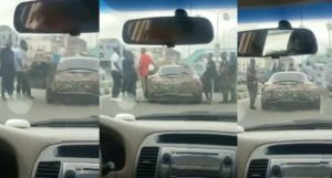 Police Arrest Young Boys Driving Expensive Car In Lagos (Video)
