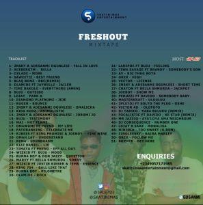3ple7DJ - Freshout Mixtape Tracklist