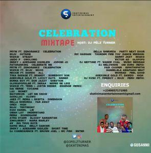 DJ Pelz Turner - Celebration Mixtape Tracklist