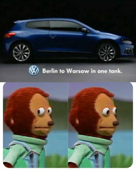 De Berlín a Varsovia con un tanque