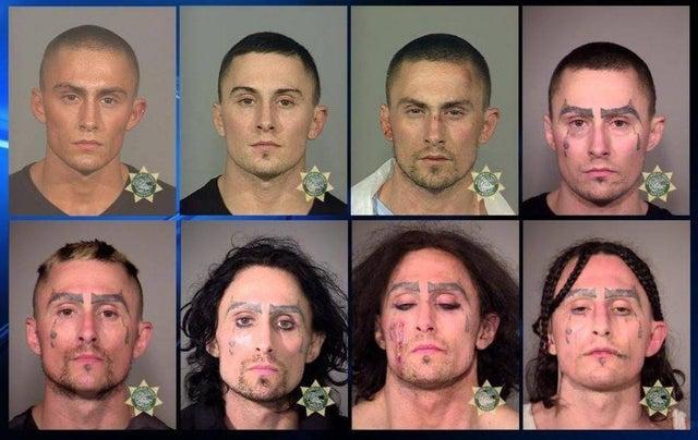 La vida de un hombre contada a través de sus fotos de arresto.