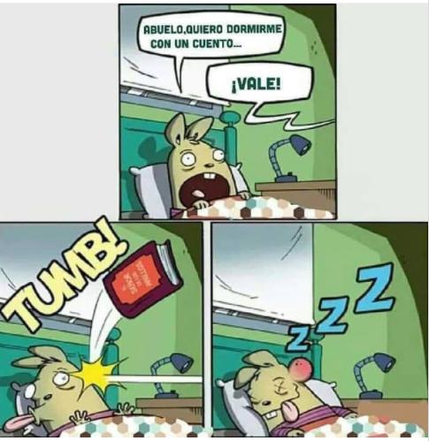 Dormir a los críos es fácil.