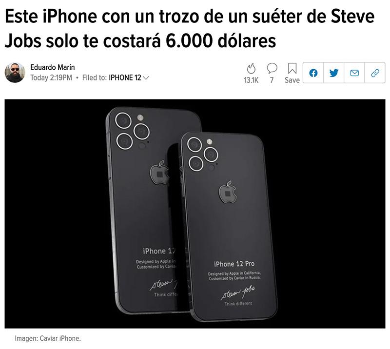 ¿Te imaginas ser tan sumamente retrasado como para comprarte este móvil?