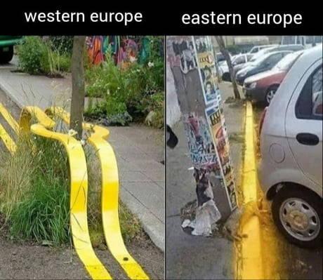 Las dos Europas.
