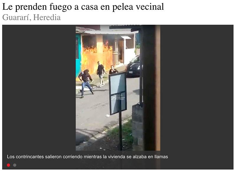 Vecinos colegas, Costa Rica edition.