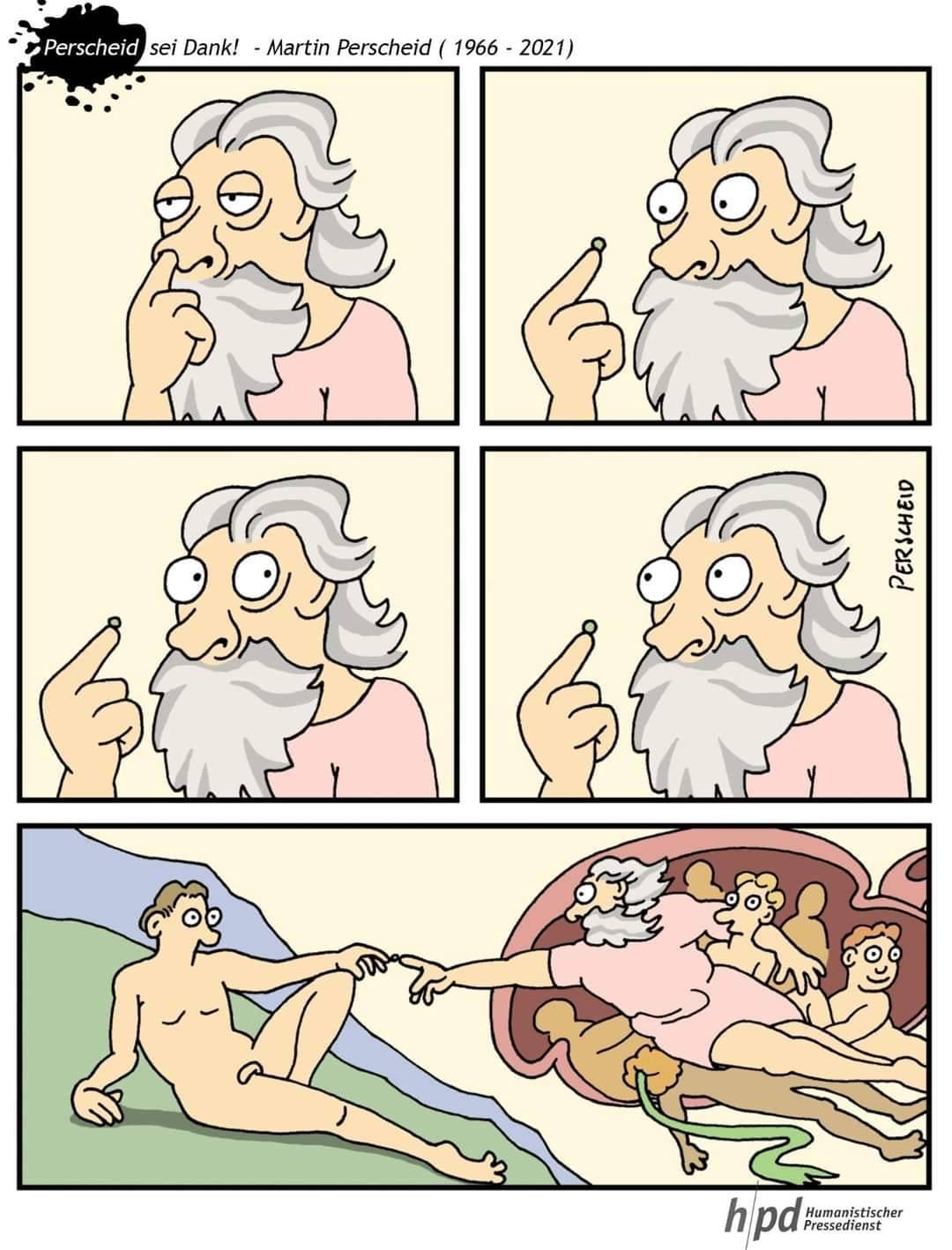 Pormenores de la creación.