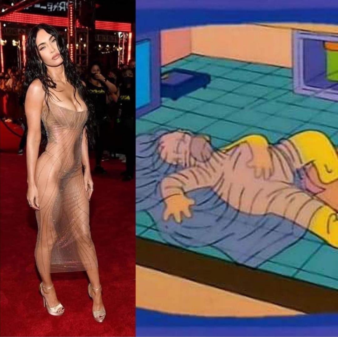 Un vestido que según ella le confiere poderes sexuales.
