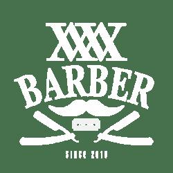 Wisemen Barbershop - Logo (White)