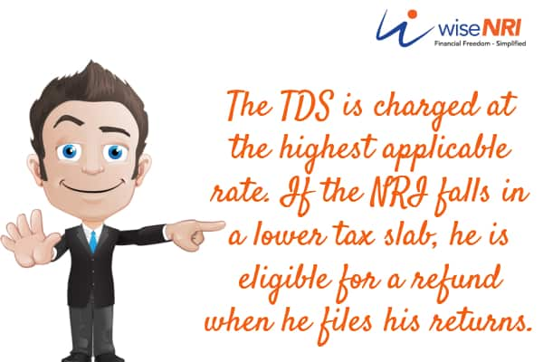TDS for NRI in Mutual Fund