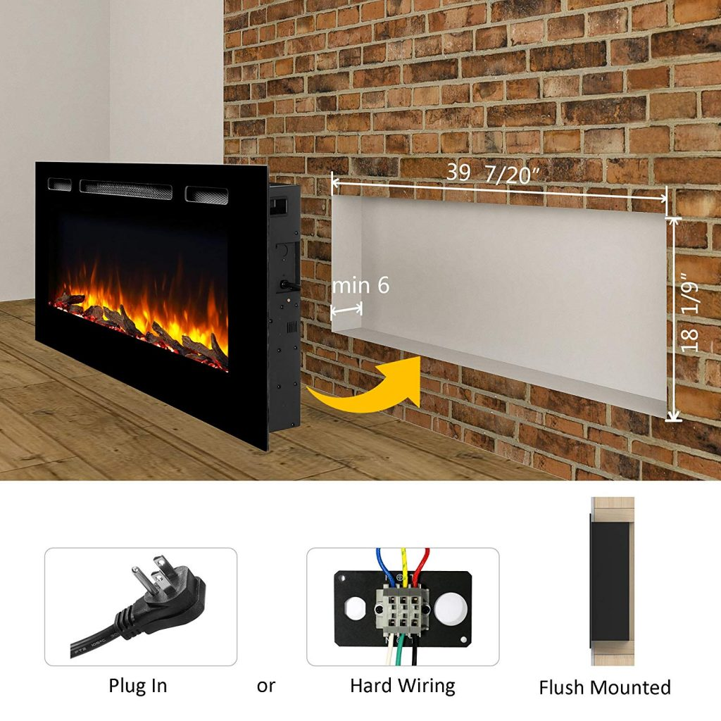 8 Best Electric Fireplaces May Reviews Amp Buying Guide