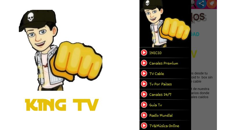 🥇 King TV APP 2019 【 Ultima Verion 】 Android | TV Box | Smart TV