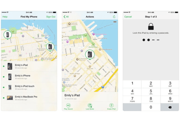 how to find device id on iphone