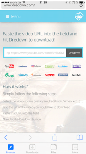 download videos without software