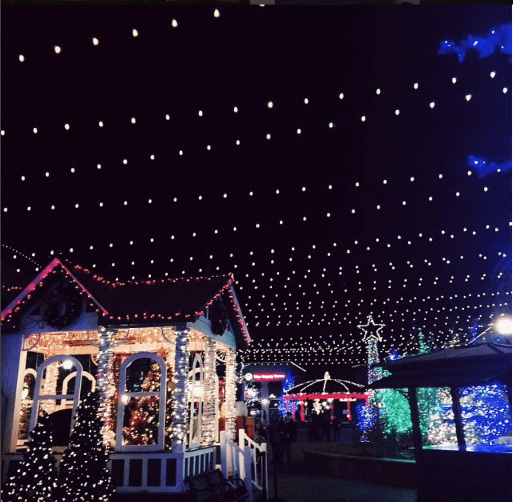 christmas lights at riverwoods