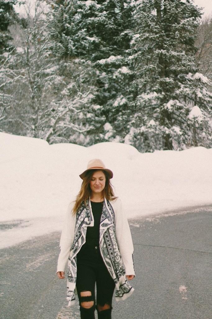what to wear in winter boho