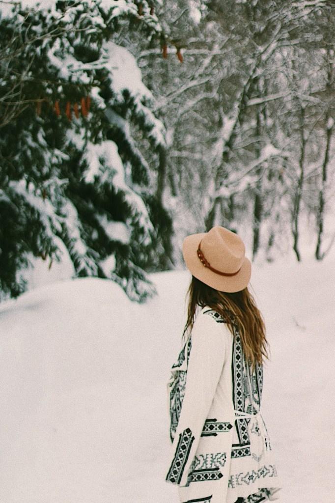 exploring sundance in the winter
