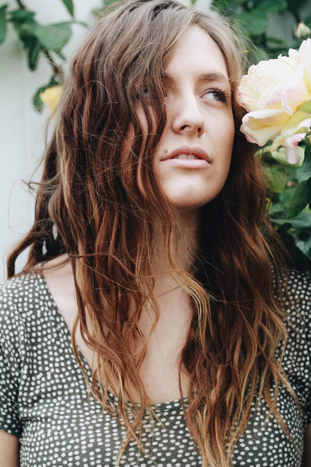 flowers in your hair beach hair