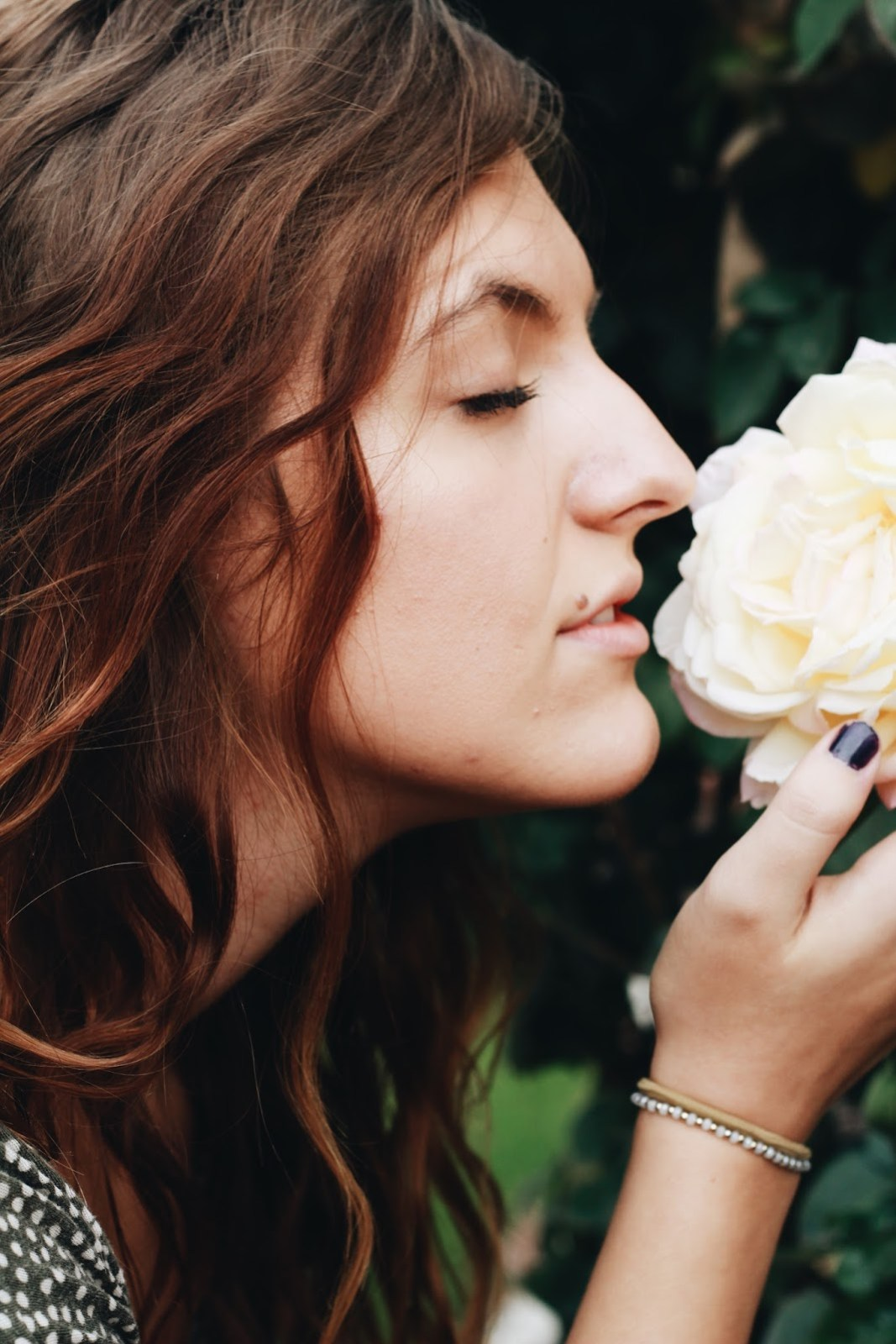 stop and smell the roses wavy hair