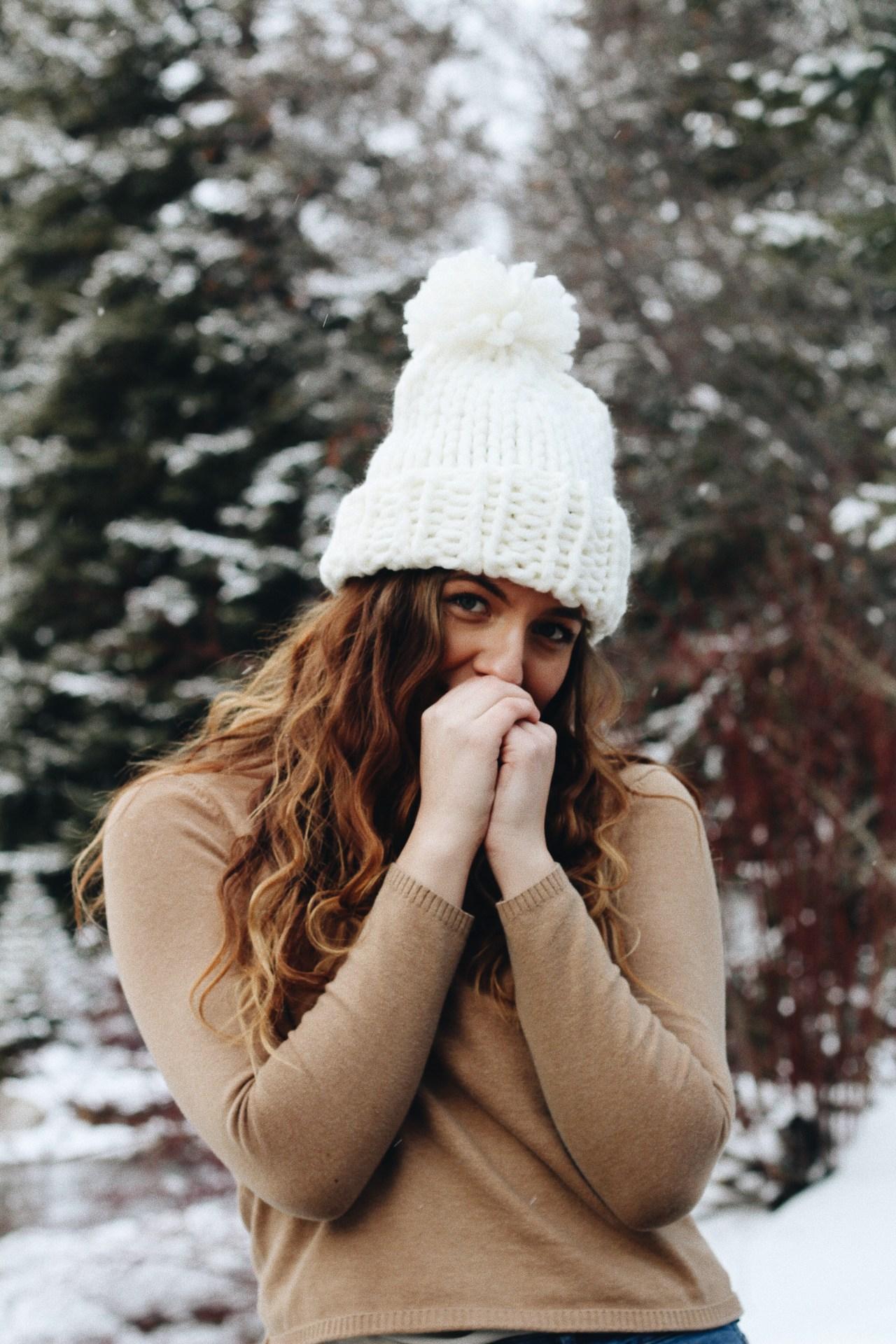 overcome social anxiety cold sundance utah portrait beanie