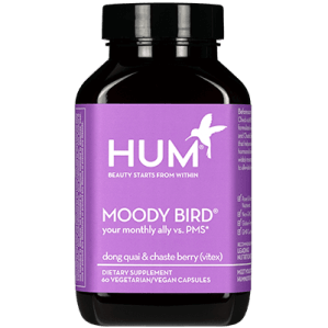 period essentials hum moody bird vitamins period health