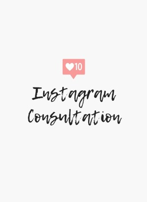 instagram consultation