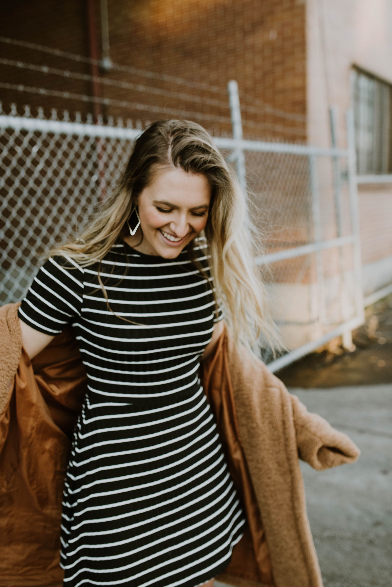 How to Manifest Your Dreams (And Make It Fun) black stripe dress