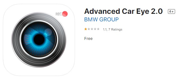 BMW Advanced Eye 2.0 Application Rating