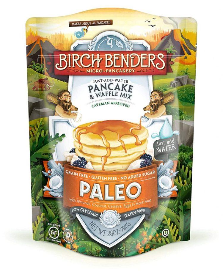 Paleo Pancake & Waffle Mix by Birch Benders