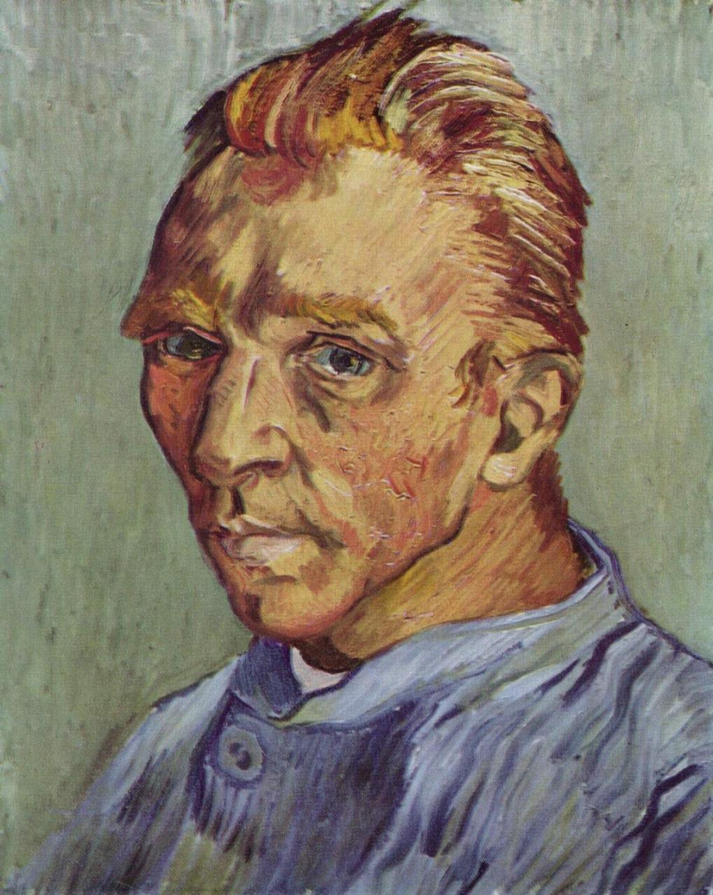 Portrait de L'Artiste Sans Barbe van gogh painting