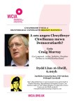 Craig Murray poster Welsh