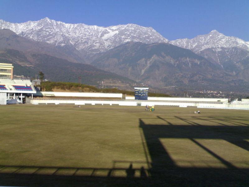 Cricket ground at Dharamshala (1/4)