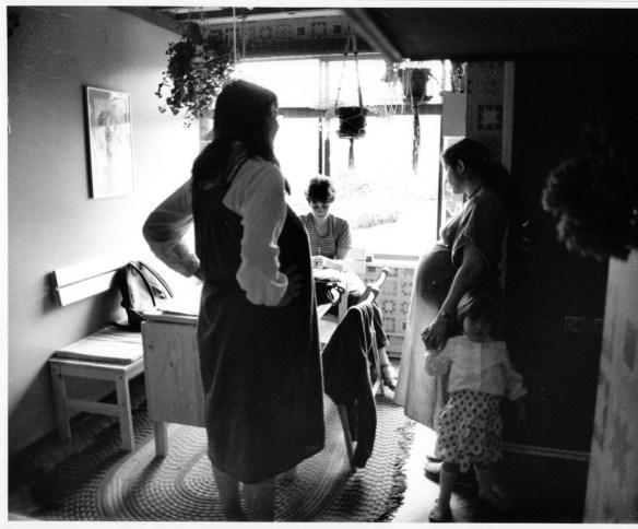 Midwife Gail circa 1984