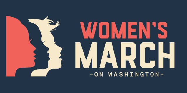 official poster for the womens march on washington January 21, 2017
