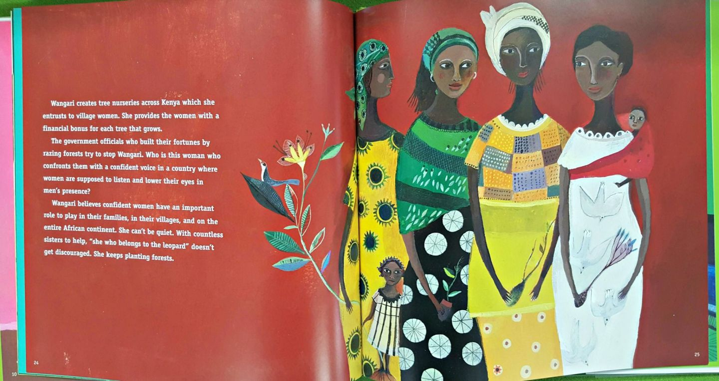 Four African women and a baby