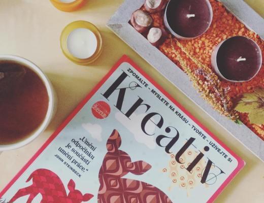 podzimní číslo časopisu kreativ