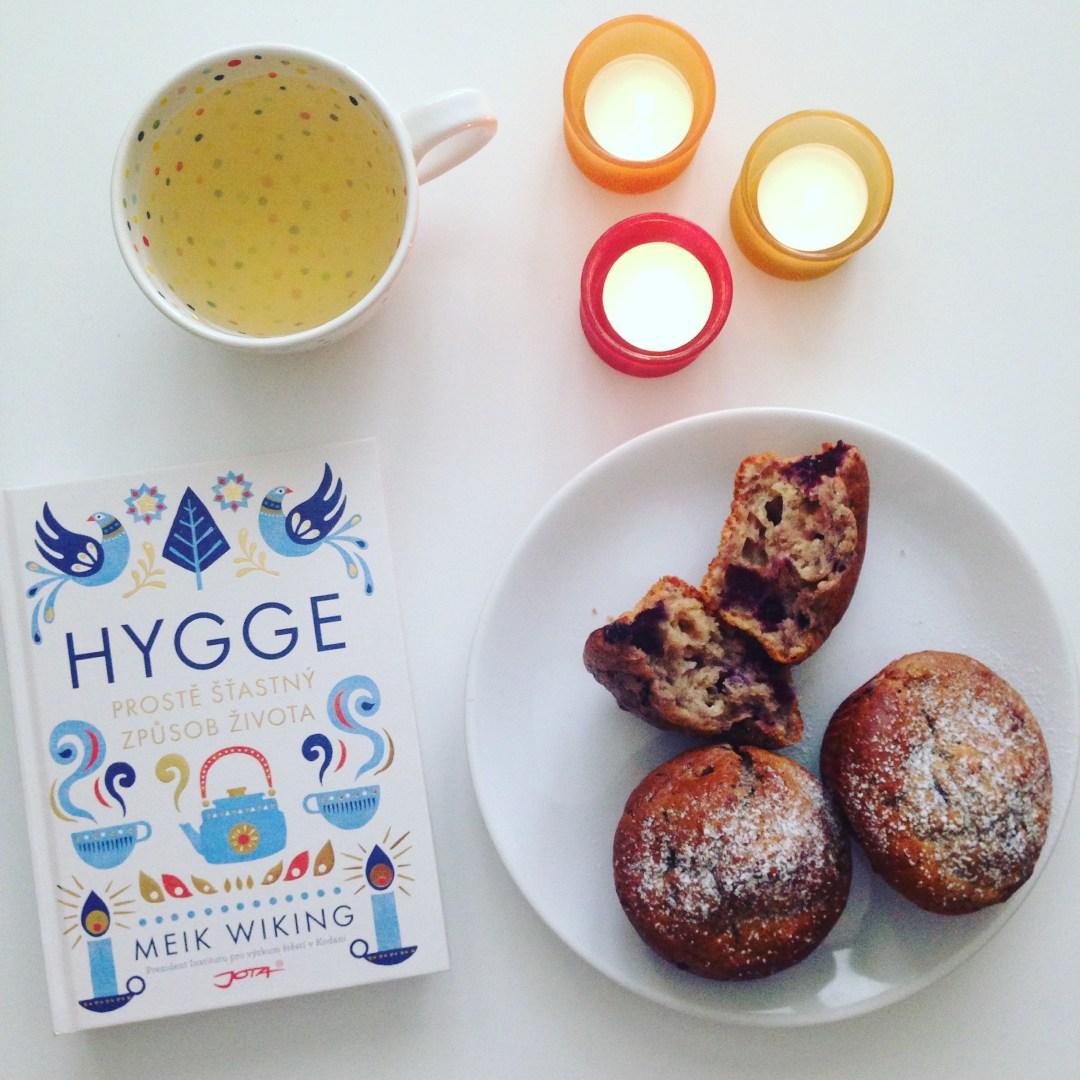 Hygge a borůvkové muffiny