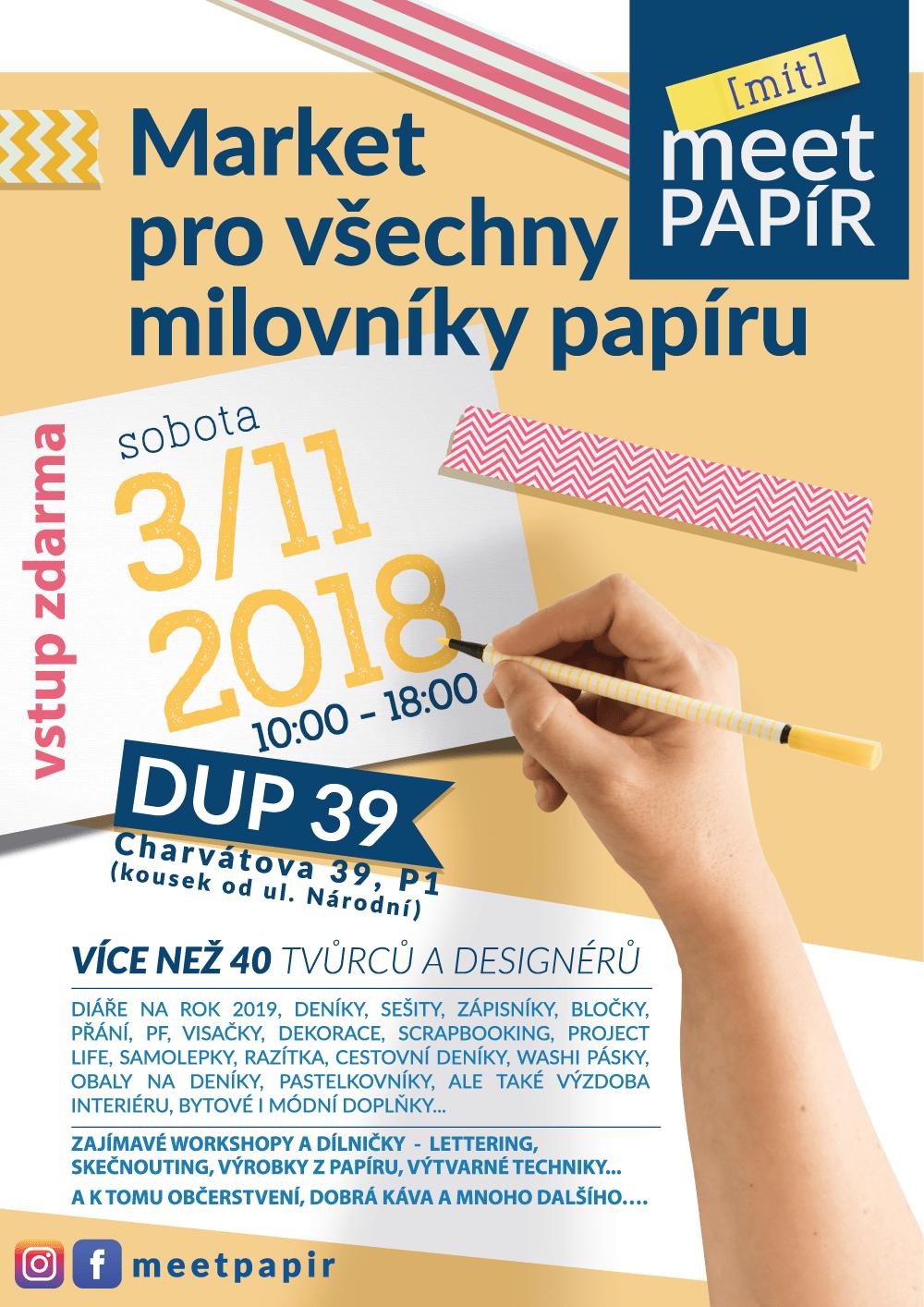 Papírový market