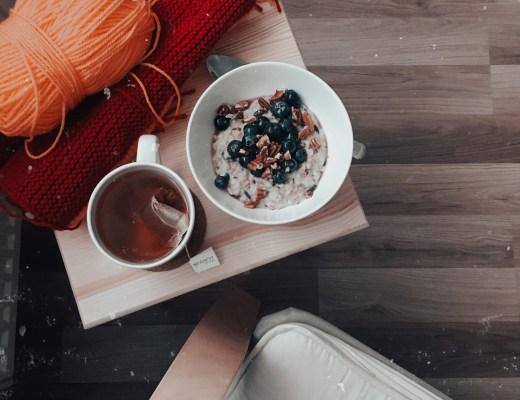 pletení a snídaně