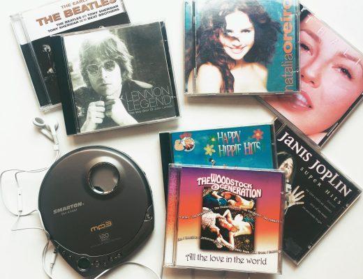 diskman a retro hudba